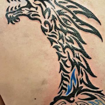 Tribal Polynesien Tätowierung – Tantalus Tattoo Bremen